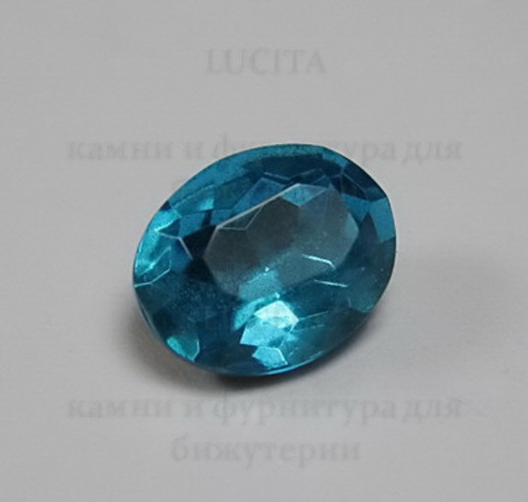 Ювелирные стразы Preciosa овальные Aquamarine (10х8 мм) ()
