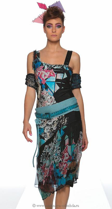 Длинное платье с нарукавниками Save The Queen (Летняя и пляжная одежда)