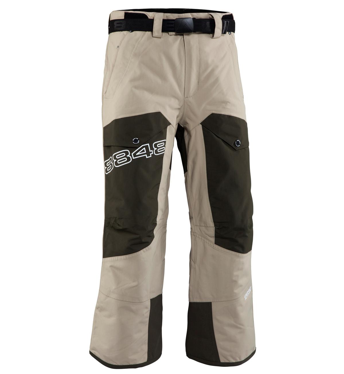 Детские горнолыжные брюки 8848 Altitude FLUX Khaki (843704)