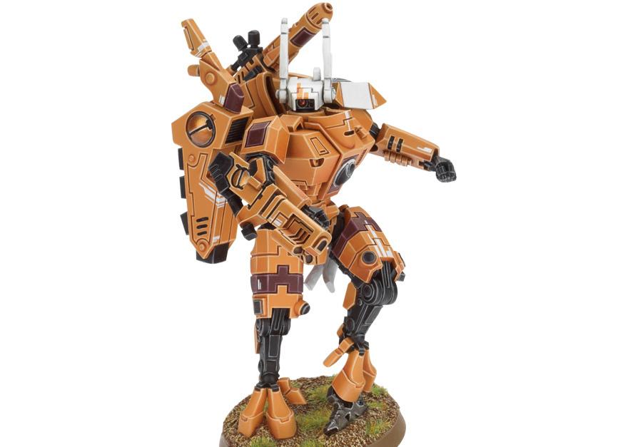 XV8 Battlesuit Commander