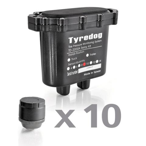 Датчики давления в шинах (TPMS) Carax CRX-1012/10 с 10-ю датчиками