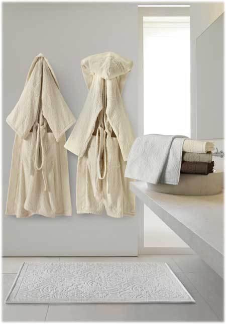 Халаты Халат-кимоно велюровый Roberto Cavalli Damasco 810 ecru damasco.jpg