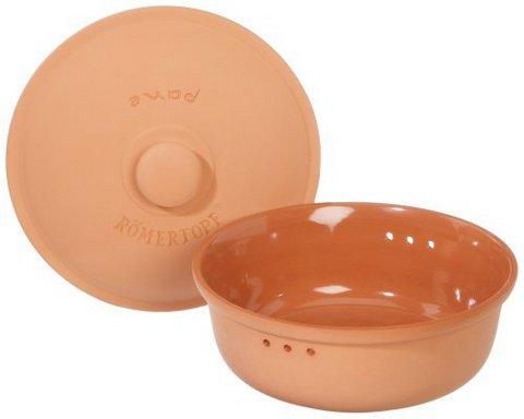 Хлебница керамическая круглая Roemertopf
