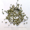 2058 Стразы Сваровски холодной фиксации Crystal Tabac ss 5 (1,8-1,9 мм), 20 штук ()