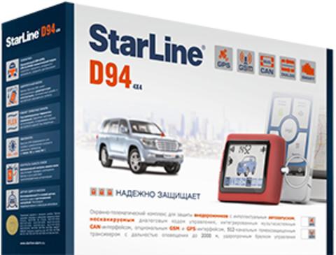 Автомобильная сигнализация StarLine D94 CAN GSM/GPS