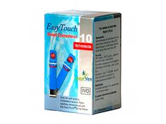 Тест-полоски Изи Тач Холестерин EasyTouch Cholesterol 10 шт