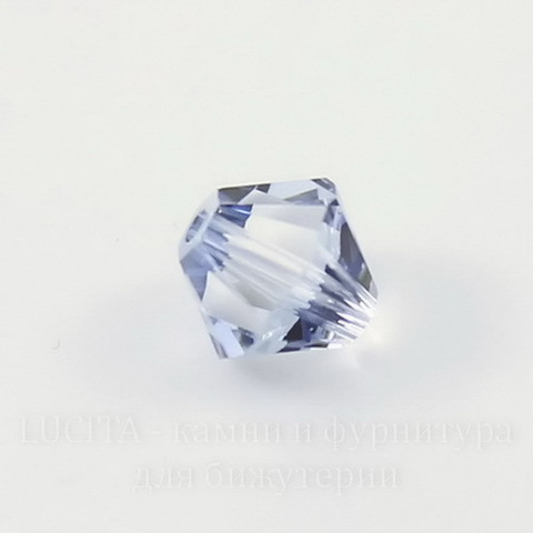 5328 Бусина - биконус Сваровски Crystal Blue Shade 6 мм, 5 штук ()