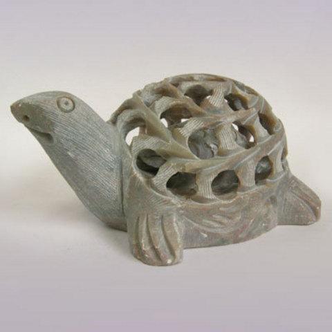 Восточный сувенир Черепашка из камня