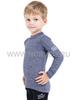 Терморубашка из шерсти мериноса Norveg Soft Blue Melange детская