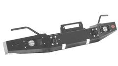 Передний силовой бампер OJ без дуг, доп. оборудование.