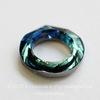 4139 Подвеска Сваровски Cosmic Ring Crystal Bermuda Blue (20 мм) ()
