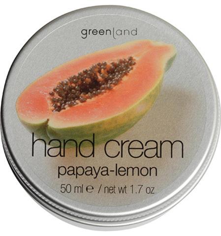 Крем для рук папайя-лимон, Greenland