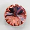 1122 Rivoli Ювелирные стразы Сваровски Rose Peach (12 мм)