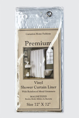 Шторка защитная 183x183 Carnation Home Fashions Premium 8 Gauge Frosty Clear