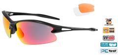 Спортивные очки goggle Condor black/red