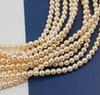 5810 Хрустальный жемчуг Сваровски Crystal Creamrose круглый 3 мм, 10 шт