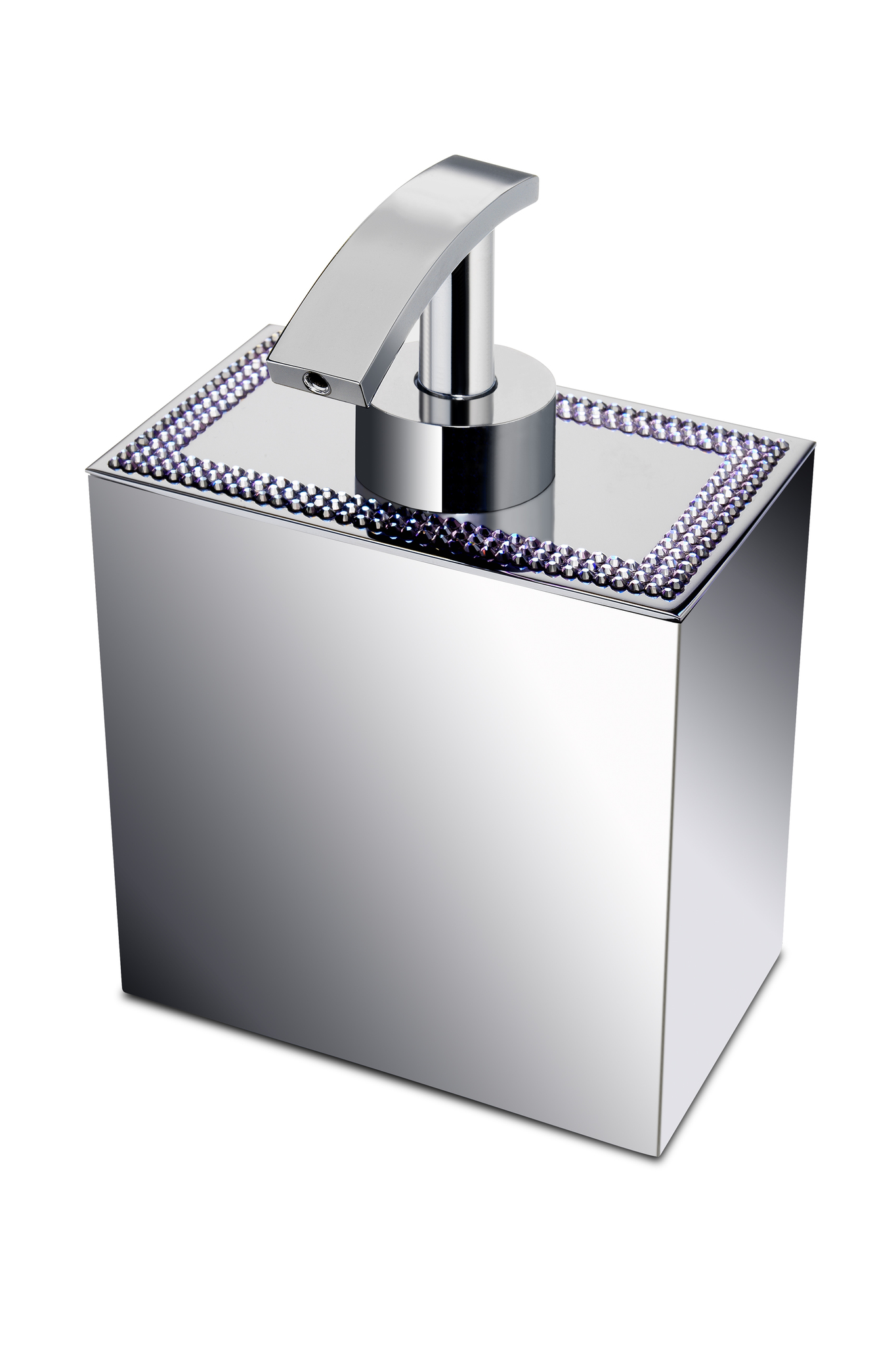 Дозаторы для мыла Дозатор Windisch 90531CR Shine Light Square dispenser-90531-shine-light-ot-windisch-ispaniya.jpg