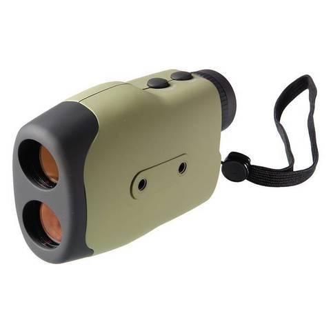 Монокуляр Veber 6*25 с дальномером LRF600 зеленый