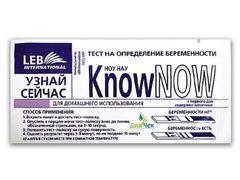 Тест для определения беременности Know Now