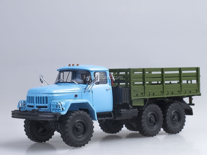 ZIL-131 board 6x6 blue-green 1:43 AutoHistory