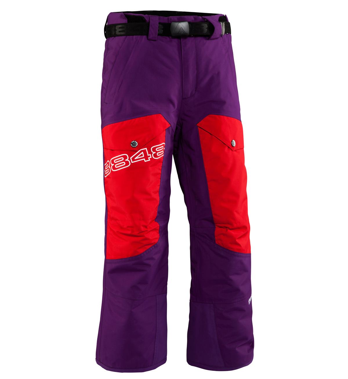 Детские горнолыжные брюки 8848 Altitude FLUX Purple (843776)