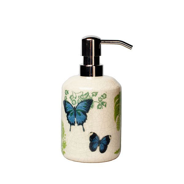 Дозаторы для мыла Дозатор для жидкого мыла Croscill Living Butterfly Palm dozator-dlya-zhidkogo-myla-butterfly-palm-ot-croscill-living-ssha.jpg