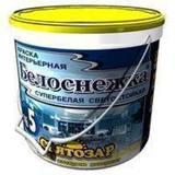 """Святозар-5С """"Белоснежка"""" супербелая краска для потолков интерьера. Не мелится. 30л/40кг"""