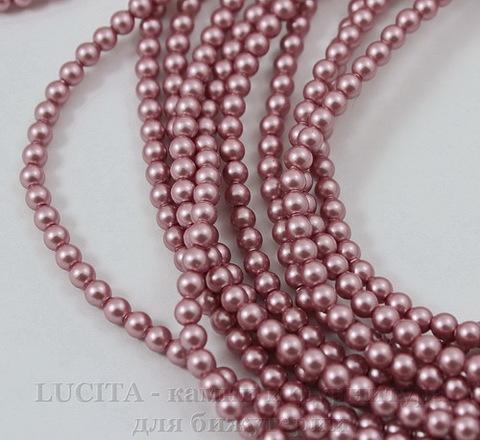 5810 Хрустальный жемчуг Сваровски Crystal Powder Rose круглый 3 мм, 10 шт