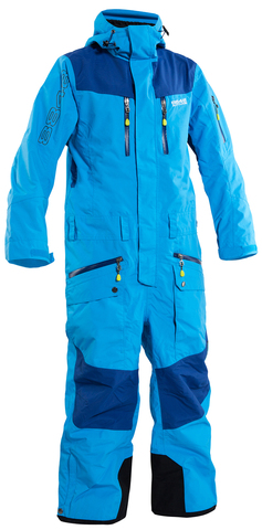 Комбинезон горнолыжный 8848 Altitude Kida Turquoise унисекс женский и подростковый