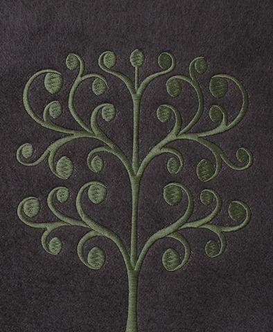 Наволочка декоративная 42х42 Luxberry Tree серая