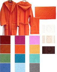 Набор полотенец 2 шт Caleffi Sport бордовый