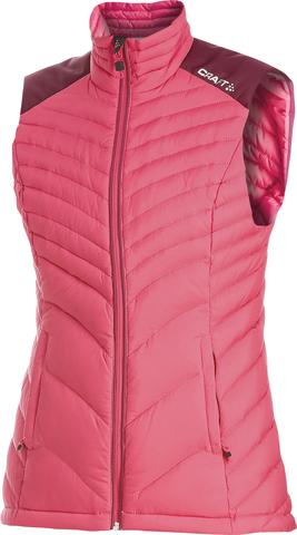 Пуховый жилет Craft Light Down женский Pink