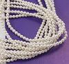 5810 Хрустальный жемчуг Сваровски Crystal White круглый 3 мм, 10 шт