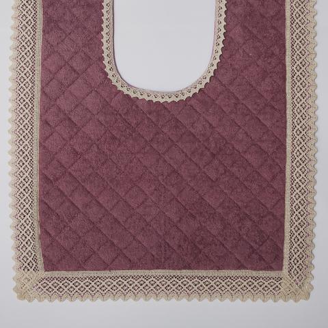 Элитный коврик для унитаза Rombetti розовый от Old Florence