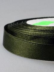 Лента атласная 1/2д x 23м темно-зеленая