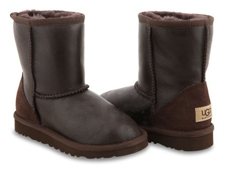 UGG Kids Metallic Chocolate