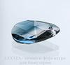 6106 Подвеска Сваровски Капля Crystal/Montana Blend (22 мм)