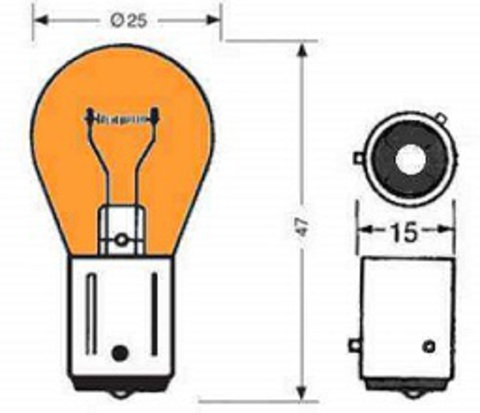 Светодиодная лампа PIAA PY21W H-647