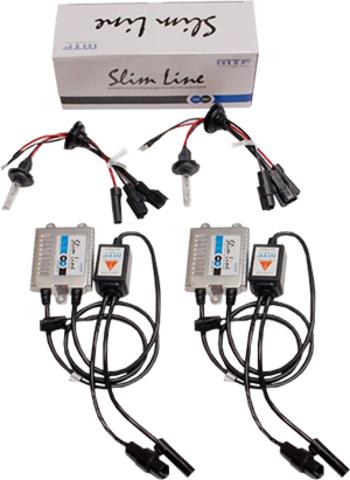 Комплект ксенона MTF Light Slim Line H27 (880) (4300K)