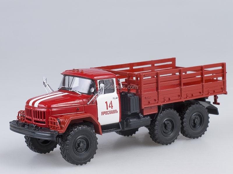 ZIL-131 board Fire Engine PCh-14 Yaroslavl 1:43 AutoHistory