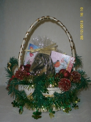Подарочная корзинка