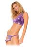 Женский страпон Harness Classic - Purple (15х3,8 см)