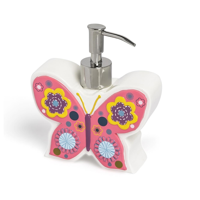 Дозатор для жидкого мыла детский Butterflies от Kassatex