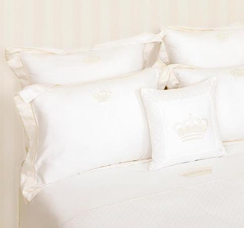 Элитная наволочка декоративная Queen белая от Luxberry