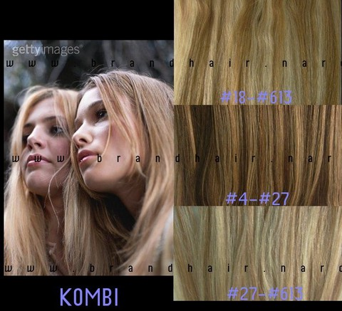 Набор long #18-#613-мелированные волосы-70 см-Вес набора 150 грамм