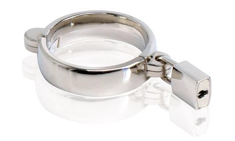 Металлическое кольцо на член Metal Worx Extra-Large (d. 5,7см)