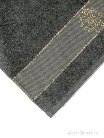 Набор полотенец 2 шт Roberto Cavalli Araldico темно-серый
