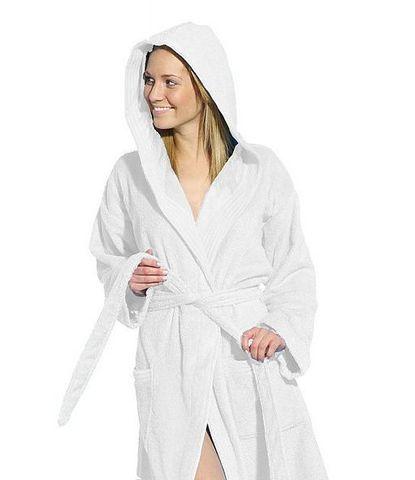 Элитный халат махровый Tropicana Apollo white от Vossen