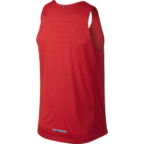 Мужская майка л/а Nike Printed Miler Singlet (619390 696) фото