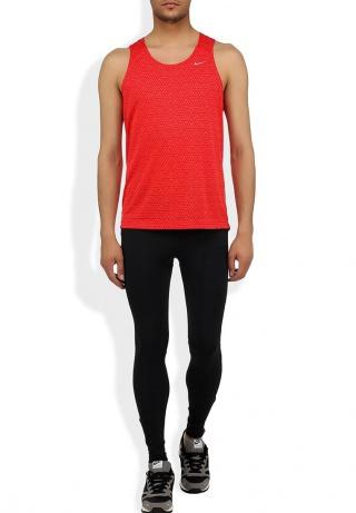 Мужская майка л/а Nike Printed Miler Singlet (619390 696) красная
